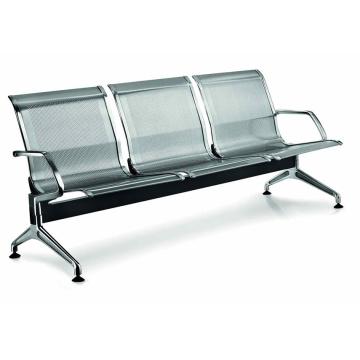 Sillas de espera de muebles de silla de acero inoxidable (DX620)