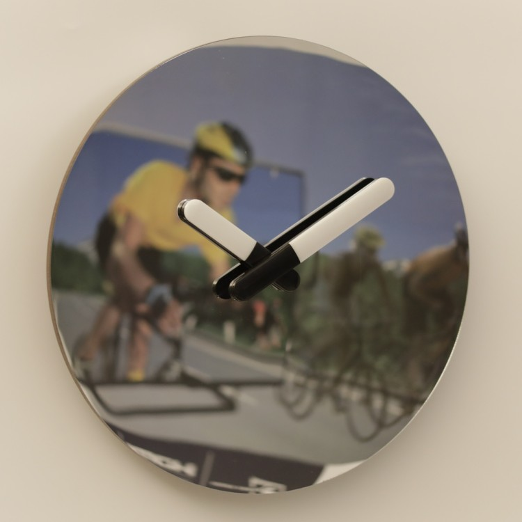 16 Inch Mirror Wall Clock