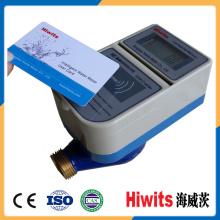 Medidor de agua inteligente de latón inalámbrico prepagado por tarjeta inteligente IC Mejor precio