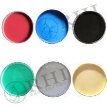 Pour faire des bouts liquides de tuyau les liquides colorés de matière première de PVC