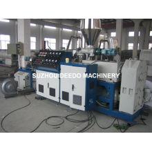 Máquina extrusora de plástico para fabricação de grânulos de PVC