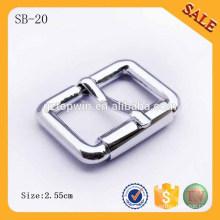 SB20 proveedor de China hebilla de metal decorativo de zapatos