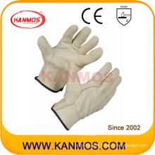 Pig Grain Industrial Safety Hand Drivers Leather Work Gloves (22203)