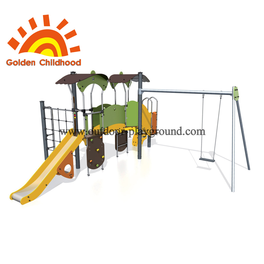 Climbing tree sphere playground