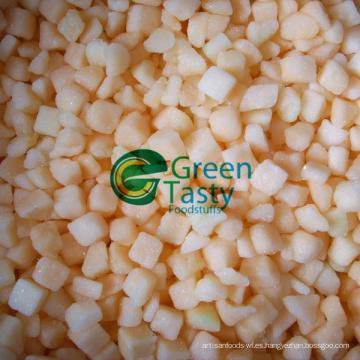 Dados de melón fresco congelado IQF de alta calidad