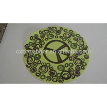 rubber promotional coaster, advertise rubber coaster