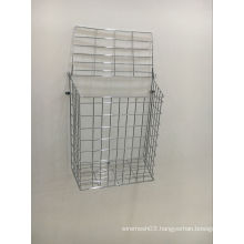 Wire Mesh Chrome Lettercage Basket