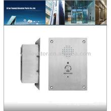 elevator emergency, elevator touch panel, elevator intercom phone
