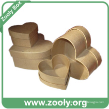 Brown Color Plain Nested Cardboard Paper Gift Box (ZC006)