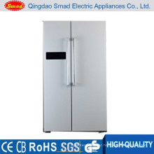 HC-698 Energy saving LED display fridge side by side doors