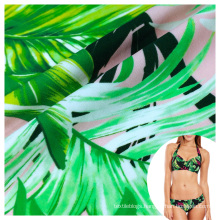 stretch full dull polyamide 80 spandex 20 hawaii print fabric for swimsuit