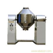 Secador de vácuo de cone duplo de pó químico inorgânico