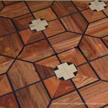 Оформление Спальни Античный Шестиугольный Деревянный Ламинат