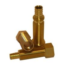 Perno de fundición de cobre y tuerca