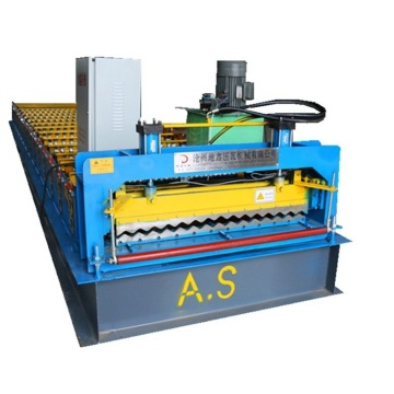 Lembaran Roofing Automatik Roll Forming Rolling Machine