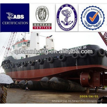 Dia 1.8mx10m barco en alta mar por bolsas de aire de goma marinas