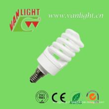 T2 compact complète spirale 15W CFL, lampe économiseuse d'énergie