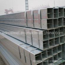 ERW ASTM A53 Grade B Pre-Galvanized Square Steel Pipe
