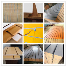 15mm Hot Sale Melamine Slot MDF