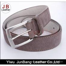 Men′s Genuine Leather Suede Belt