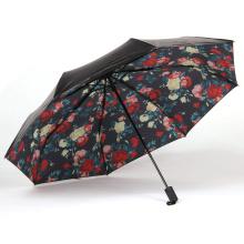 A17 5-fach Regenschirm Blumenschirm Kompaktschirm