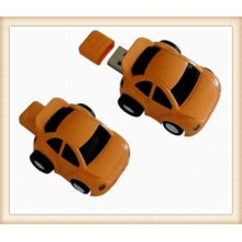 Custom Logob Brown ABS coche forma USB Flash Drive (EP054)