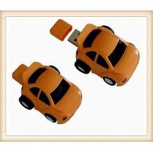 Custom Logob Brown ABS Car Shape USB Flash Drive (EP054)