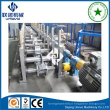 Suqian city metal auto-lock linha de produção de tubos planos