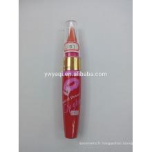 Usine cosmétique avec le prix concurrentiel histoire personnaliser de 20 ans faire votre propre MDD de gloss pour les lèvres