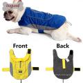 2017 Doglemi segurança cão reflexivo roupas suéter de inverno macio cão