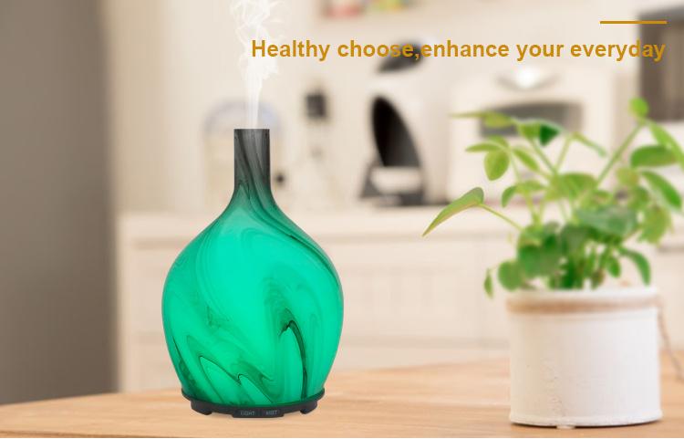 essential oil diffuser glass