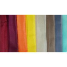 Tecido tingido com forro de tafetá de poliéster padrão listrado