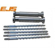 customized rubber machine screw and barrel