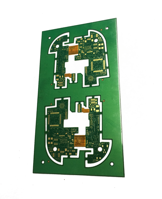 Double Side Rigid Flex PCB