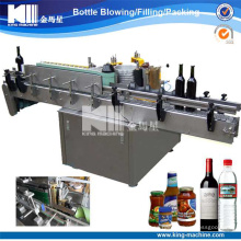 Máquina de etiquetado automática de la goma / máquina de la etiqueta engomada para la botella de vino
