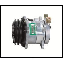 Escavadeira AC DC Compressor de ar SD505 12V Compressor de ar condicionado barato com boa qualidade