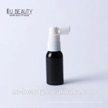 Throat sprayer with plastic bottle