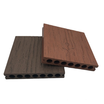 Easy installation anti-water wood plastic composite decking for outdoor