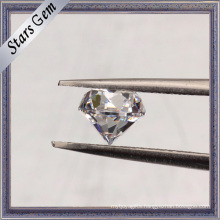 6.50mm Machine Cut 40% Heavy Weight CZ Stones with High Quantity