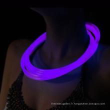 Glow tube Stick Collier décoration de fête