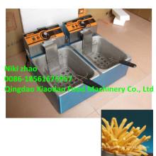 Elektrische Kartoffel-Chips Fryer Maschine / Fritteuse Maschine