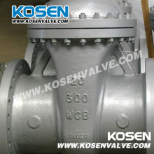 Gear Operating Cast Steel Wedged Gate Valves