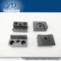 CNC-Fräsbearbeitung Serviceteile Edelstahlteil