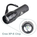 Q5 LED Torch Light Focus Zoom Lamp Mini 300 Lumen Flashlight with AAA Battery