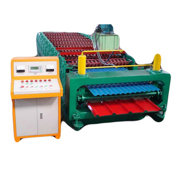 Double layer roll forming machine for steel sheet