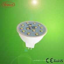 Projecteur à LED MR16 3W (SMD2835)