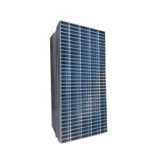 Onshore HDG steel grating walkway serrated steel grating price for Liza Unity