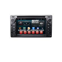 Reproductor de dvd 6''car, fábrica directamente! Quad core, GPS, DVD, radio, bluetooth GPS, DVD, radio, bluetooth para ford-victoria