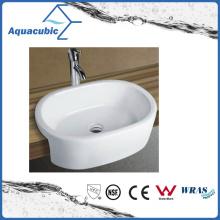 Ceramic Cabinet Art Basin and Vanity Top Hand Washing Sink (ACB8013)
