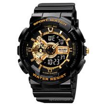 Skmei 1688 Man Girl Relojes Hombre Japan Movement 5atm Waterproof Round Plastic Fashion Wholesale Digital Sport Watch